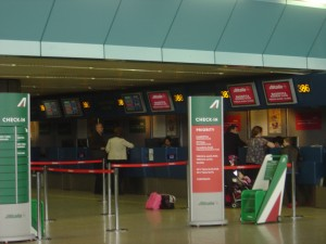 Check-in Alitalia